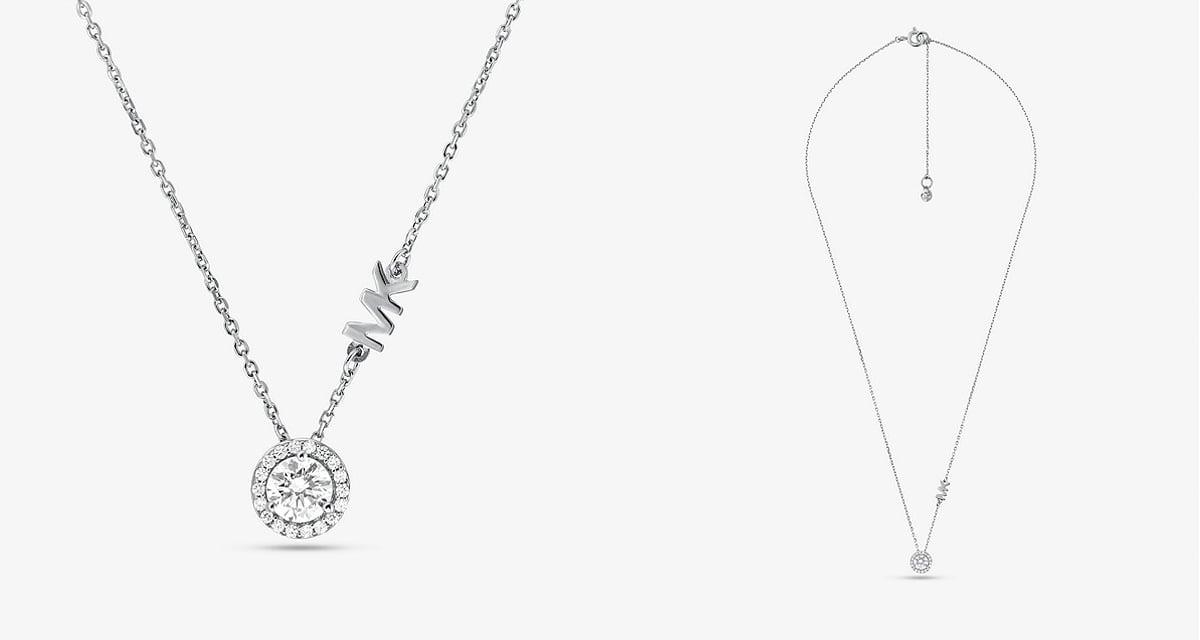 A Michael Kors ezüst nyaklánc a legszebb női fashion nyakláncok közé tartozik